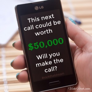 Your next call could be worth $50,000 - Vicki Fitch