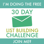30 Day List Building Challenge with Vicki Fitch