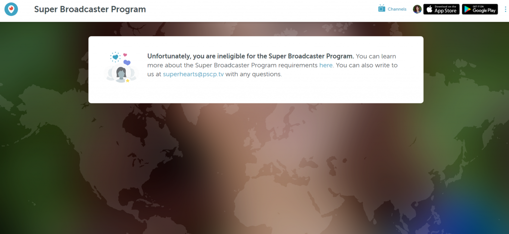 Periscope Super Broadcaster Program Results What happens when you apply now - Super Hearts